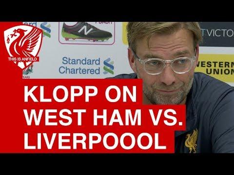 Jurgen Klopp on injuries, Emre Can's future and West Ham vs. Liverpool