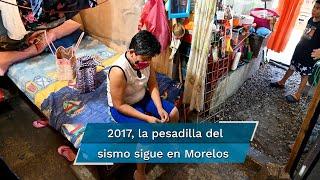 Decenas de familias aún esperan la llegada de los recursos para rehabilitar o reconstruir sus casas; acusan abandono de autoridades e irregularidades en la entrega de apoyos