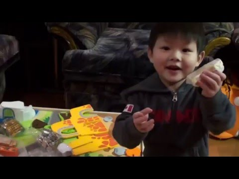 Unboxing Of The Imaginarium Zoo Play Table With Devyn.