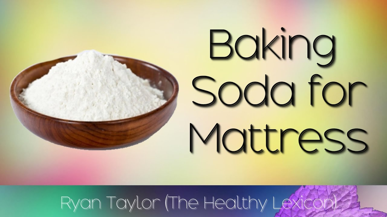 how to clean foam mattress with baking soda