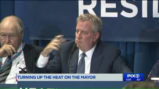 Mayor promises warmer winter for NYCHA; plan includes $1M a month `third party experts`