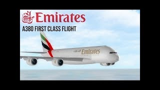 Emirates Airlines - (First Class) - ROBLOX