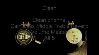 Marshall MG-15 VS CELESTION EIGHT 15
