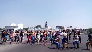 Flashmob in Guadalajara, Mexico