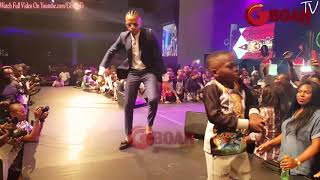 See The Little Boy That Killed The Show As Tekno Performs At The Launcher Concert