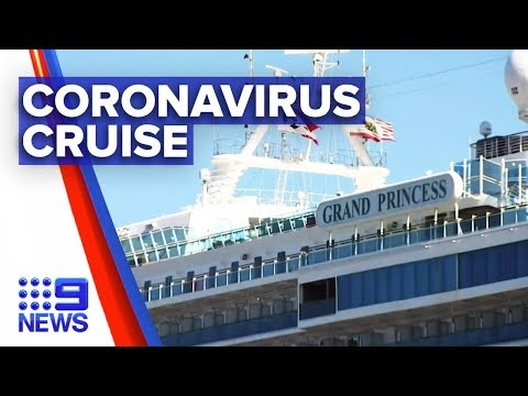 Coronavirus: Half of California cruise passengers test positive | Nine News Australia