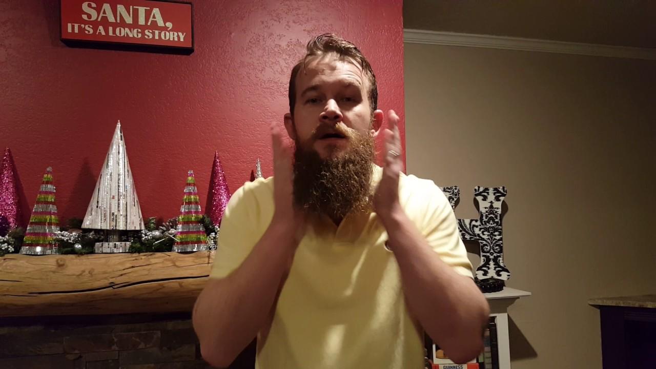 How to use Best Damn Beard Oil - YouTube