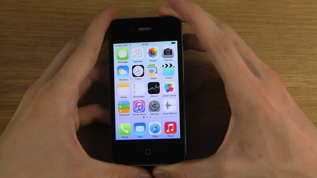 New Iphone Iphone 4s - New Ios 7 Beta 2 Review - Youtube