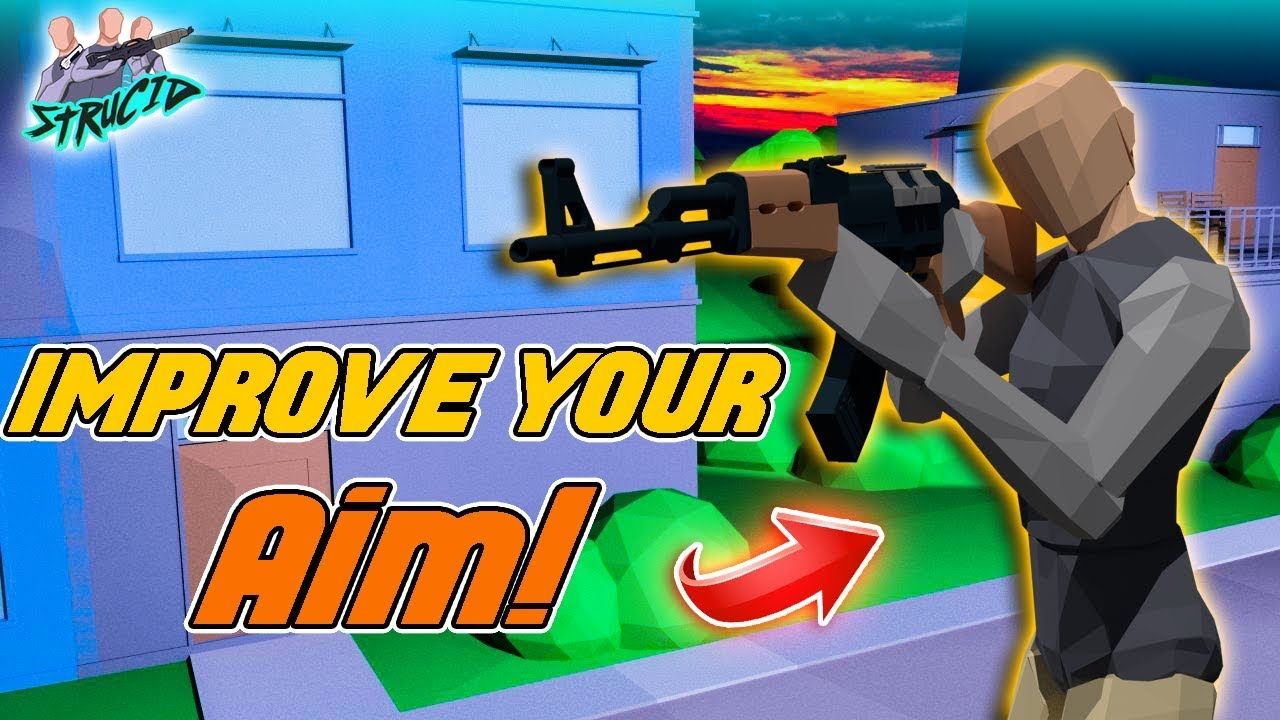 How To Have God like Aim in Strucid! | Improve Your Aiming ...
