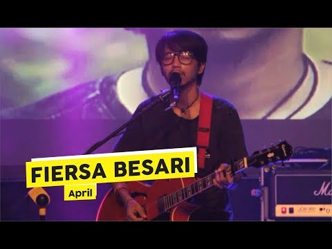 [HD] Fiersa Besari - April (Live at Chemistry Art Festival)
