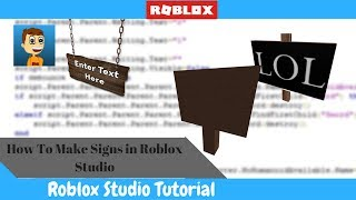 Wie man ein Zeichen in ROBLOX Studio macht!