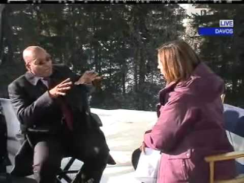 Interview: South African President Jacob Zuma, Davos 2010