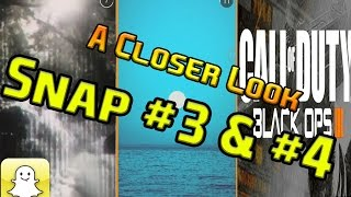 A Closer Look COD 2015 Teaser Snap #3 #4:  Blue sunset ,Frozen Forest and Marching Soldiers