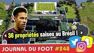 36 propriétés saisies : la presse brésilienne lâche une nouvelle bombe sur NEYMAR !
