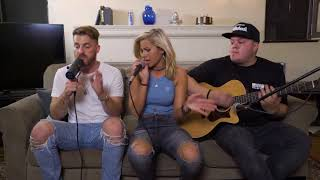 Fifth Harmony He Like That Andie Case & 80Fitz BEATBOX Cover LIVING ROOM SESSION