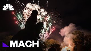 Our Fascination With Fireworks Is Hard Wired Into Our Brains | Mach | NBC News