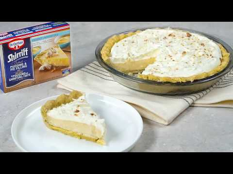 Coconut Cream Pie with Dr. Oetker Shirriff