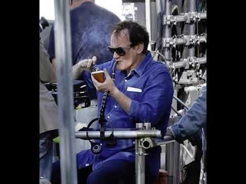 Quentin Tarantino Smoking Crack