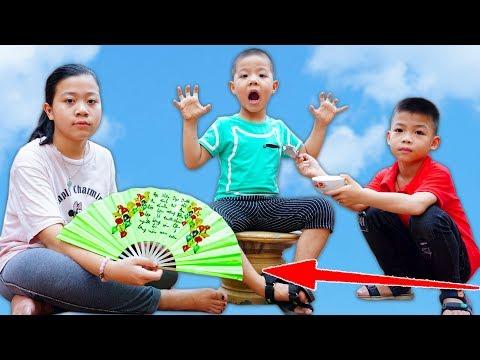 Trò Chơi Chiếc Quạt Thần Kỳ - Đứa Bé Biếng Ăn - Bé Nhím TV - Đồ Chơi Trẻ Em Thiếu Nhi