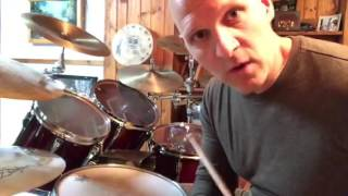 Syncopated Drumset groove part 8