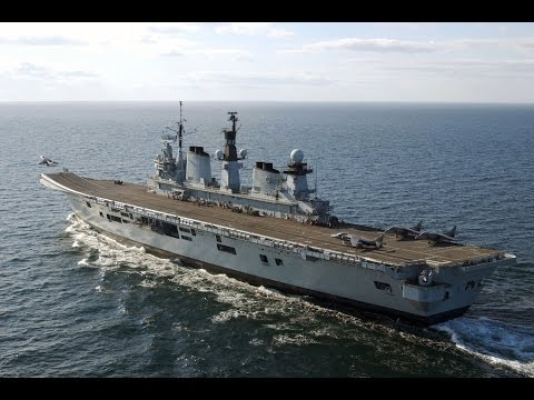 A Brief History Of HMS Illustrious   Forces TV