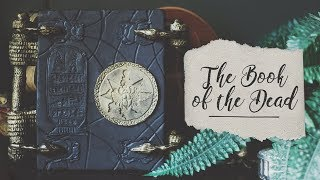 The Book of the Dead - Cardboard Box DIY || The Mummy Prop Tutorial
