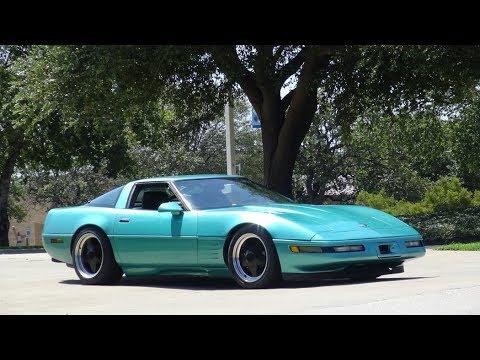 1991 Corvette C4 Custom Targa Coupe