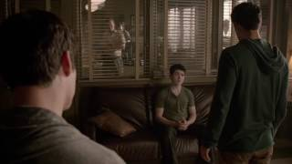 Teen Wolf Scott Shows Derek That He Is The Alpha