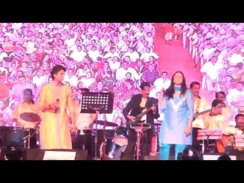 """Pranil and Vaishali Samant -Performing Marathi song """" Kombadi Palali"""""""
