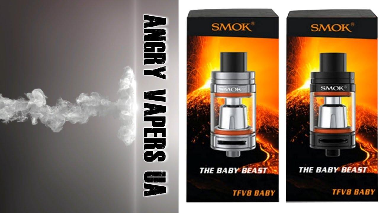 Глассомайзер smok tfv8 x-baby это новинка популярной серии глассомайзеров tfv8. Благодаря различным и многократным испытаниям, был.