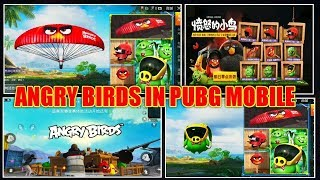 ANGRY BIRDS IN PUBG MOBILE 2019 IN ( Chinese Version ).......