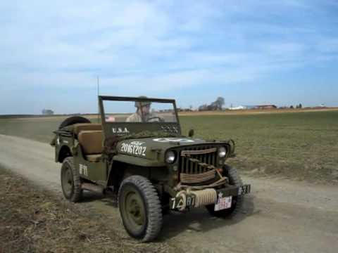 Willys Mb Overland Jeep 1943 Youtube
