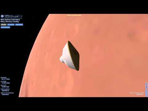 Curiosity Mars Rover Live EDL 1080p HD