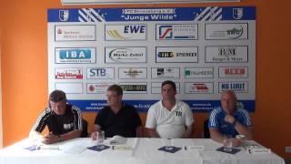 08.06.2014  Pressekonferenz FCS vs. Waltersdorf