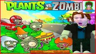 Игра Растение против зомби,  Зомби стали растениями,  - Plants Vs Zombies  Наоборот От Фаника 1