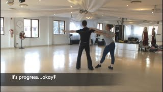Dancing and Stuff: Ballroom VLOG #5  The Waltz, Anti- Cha Cha, and Lack of Jive.