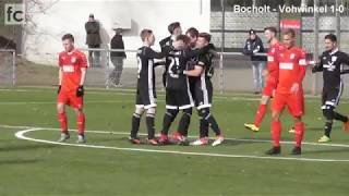 24. Spieltag: 1. FC Bocholt - FSV Vohwinkel Wuppertal 3:0 (1:0)