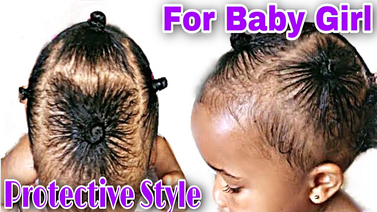 Easy Hairstyle For Little Black Girl With Short Hair 2020 Youtube