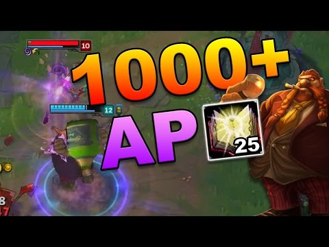 AP GRAGAS IS BACK!! 1000 AP?! | League of Legends