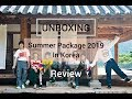 UNBOXING+REVIEW BTS 2019 SUMMER PACKAGE IN KOREA💜