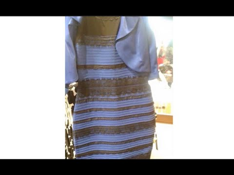 The Dress!!!  WHAT COLOR IS THE DRESS?  An Example of an Idiocracy