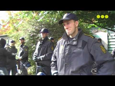 Police Raid in Pusher Street, Christiania, Denmark - 2009