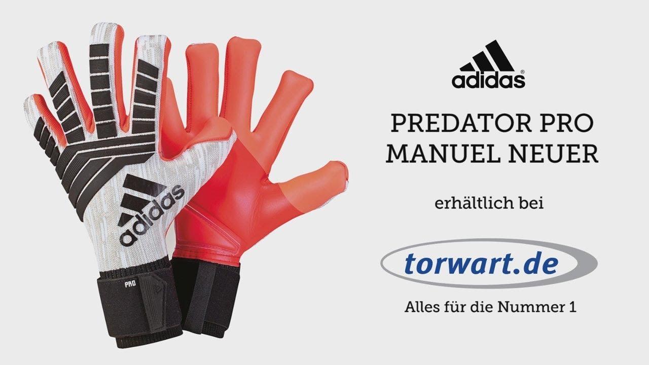 Adidas Predator Pro Manuel Neuer Torwarthandschuhe | Produktvideo