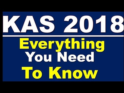 KAS 2018 everything you need to know