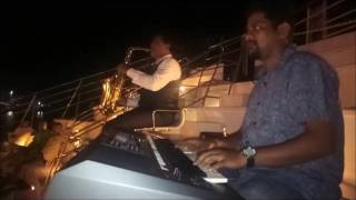 dil ko hazaar baar roka /Alisha Chinoy/Cover/by irshad saxophonist and ashish keyboard