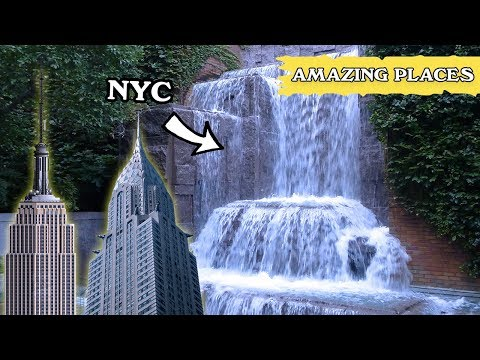 The Hidden 25 Foot Waterfall in New York City
