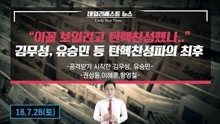공격받기 시작한 김무성,유승민…이 꼴 보일려고 탄핵찬성했나..!!