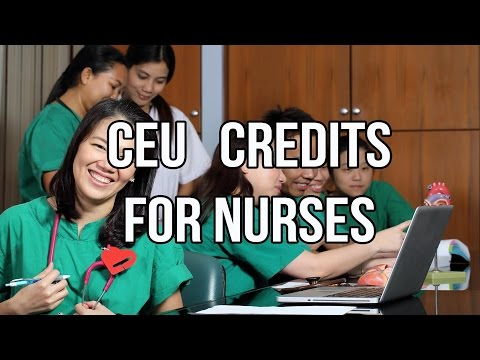 CEU Credits For Nurses