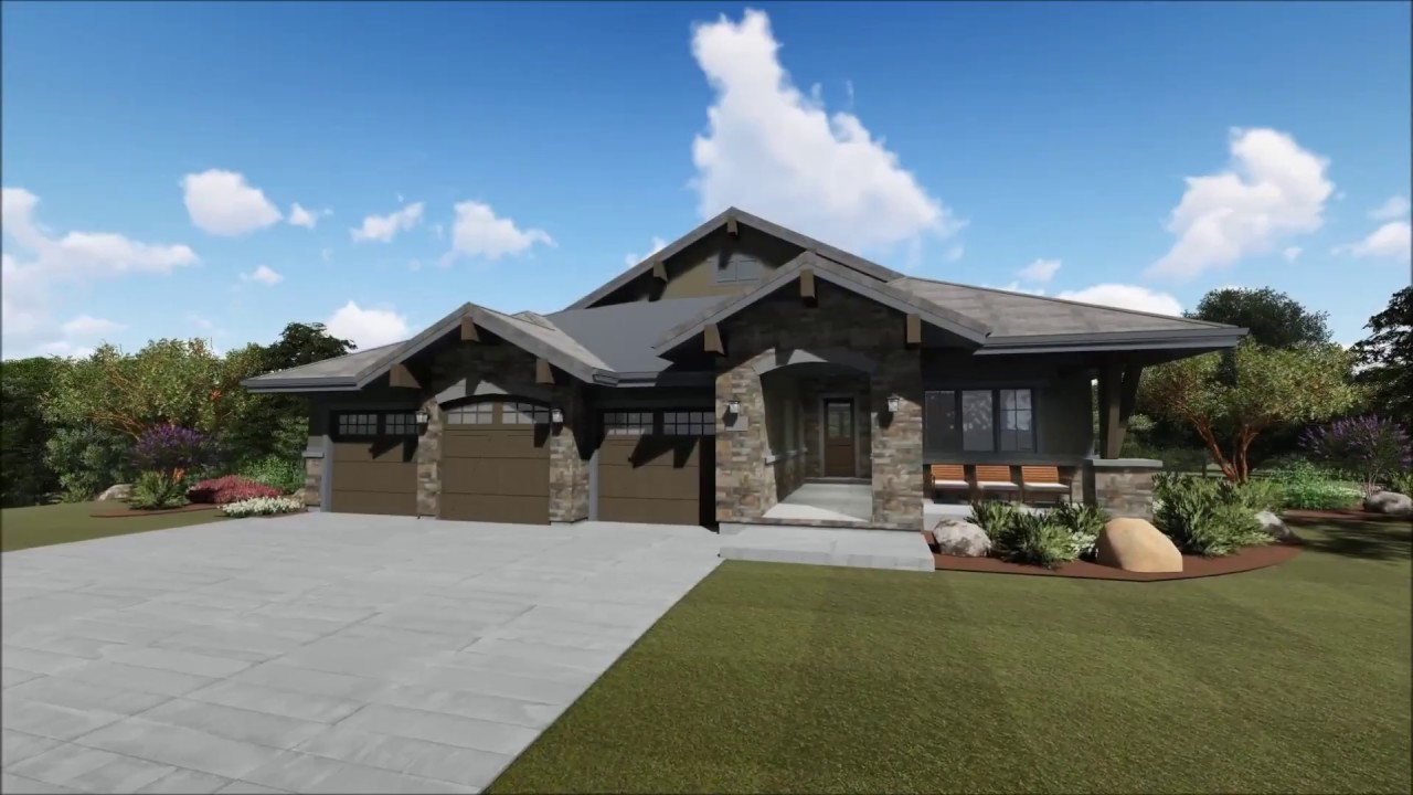 architectural designs plan virtual craftsman tour