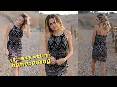 Chill Get Ready with Me for Homecoming!! 2017 | Summer Mckeen
